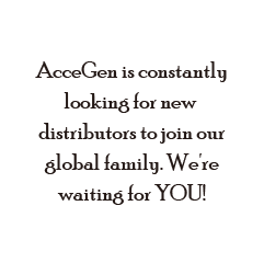 AcceGen is constantly looking for new distributors to jooin our global family. We're waiting for YOU!